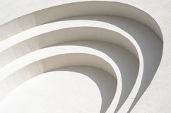 Vit textur för murbrukväggbakgrund Arkivbild