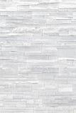 Vit textur för stenfanérvägg royaltyfria bilder
