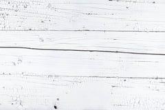 vit träbrädebakgrund Arkivbilder