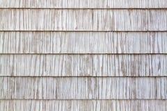 Vit trägammal textur som en retro modell Royaltyfri Fotografi