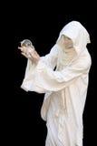 vit trollkarl Arkivbilder
