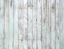 Vit träväggbakgrund för tappning Fotografering för Bildbyråer