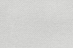 Vit tvättad matttextur, bakgrund för textur för linnekanfas vit Arkivfoton