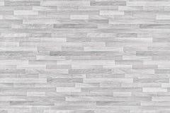 Vit tvättad träparketttextur, Wood textur för design och garnering Arkivbilder