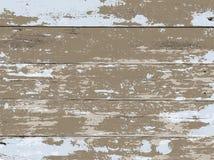 Vit tvättat trä stiger ombord bakgrundsillustrationen stock illustrationer