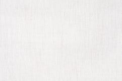 Vit tygtextur eller bakgrund, vit kanfas Royaltyfri Bild