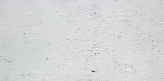 Vit väggbakgrund eller textur för stuckatur Arkivbild