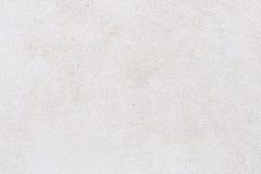 Vit väggbakgrund eller textur för stuckatur Arkivbilder