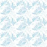 vit vinter för blå blom- prydnad Royaltyfri Foto