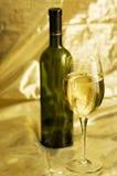 vit wine Arkivfoton