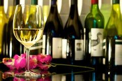 vit wine Royaltyfri Foto