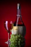 vit wine 2 Fotografering för Bildbyråer