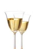 Vit Wine Royaltyfria Bilder