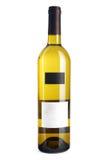 vit wine för flaska Fotografering för Bildbyråer