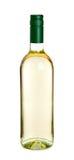 vit wine för flaskexponeringsglas Arkivbilder