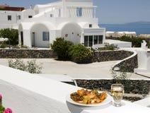 vit wine för grekiska grönsaker för ö v Arkivbilder