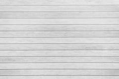 Vit wood plankabakgrund Fotografering för Bildbyråer