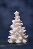 vit xmas för tree Royaltyfria Foton