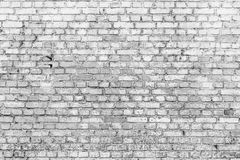 Vit yttersida för tegelstenvägg som bakgrund abstrakt texturwhite Arkivfoto