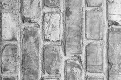 Vit yttersida för tegelstenvägg som bakgrund abstrakt texturwhite Arkivfoton