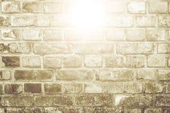 Vit yttersida för tegelstenvägg som bakgrund abstrakt texturwhite Arkivbild