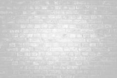 Vit yttersida för tegelstenvägg som bakgrund abstrakt texturwhite Arkivbilder