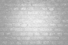 Vit yttersida för tegelstenvägg som bakgrund abstrakt texturwhite Royaltyfri Foto
