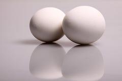 vita ägg Royaltyfri Bild