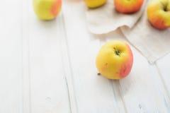 vita äpplen Arkivfoto
