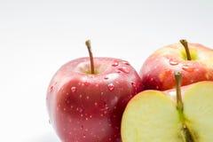 vita äpplen Royaltyfria Bilder