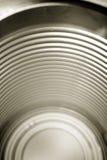 Vita all'interno di una latta della minestra Fotografia Stock Libera da Diritti