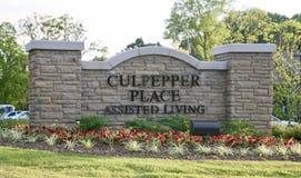 Vita assistita posto di Culpepper, Bartlett, TN Fotografia Stock Libera da Diritti