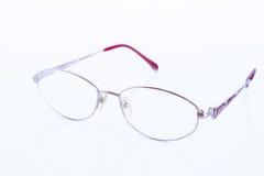 vita bakgrundsexponeringsglas Royaltyfri Fotografi
