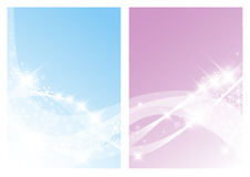vita bakgrundsjulsnowflakes Royaltyfri Bild