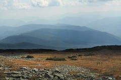 Vita berg, New Hampshire Royaltyfri Fotografi
