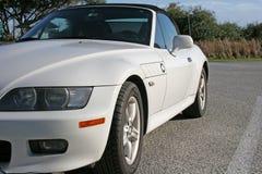 vita bilsportar Royaltyfri Fotografi