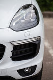 vita bilsportar Arkivfoton