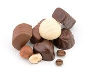 vita choklader Royaltyfri Fotografi