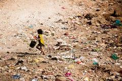 Vita dei bassifondi di Mumbai Immagine Stock