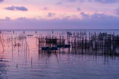 Vita dei pescatori Fotografie Stock
