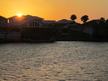 Vita del canale, isola di cappellano Fotografie Stock Libere da Diritti