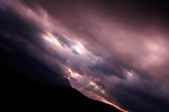 Vita del cielo fotografie stock