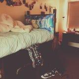 Vita del dormitorio nei cruces di las Fotografia Stock