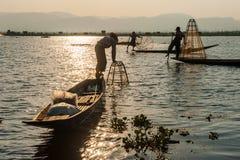 Vita del Myanmar Fotografie Stock Libere da Diritti