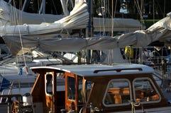 Vita del porto Fotografie Stock Libere da Diritti