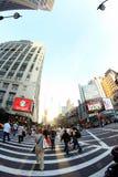 Vita del Times Square Immagini Stock Libere da Diritti