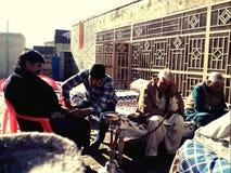 Vita del villaggio Fotografia Stock Libera da Diritti