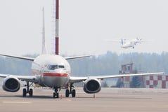 Vita dell'aeroporto Fotografia Stock