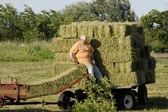 vita dell'agricoltore Fotografia Stock