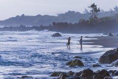 Vita dell'isola a La Réunion nell'Oceano Indiano Immagini Stock Libere da Diritti